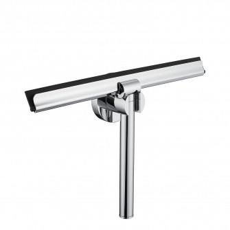 shower squeegee with wall-mounting bracket