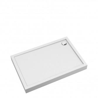 acrylic rectangular shower tray, 90 x 140 cm