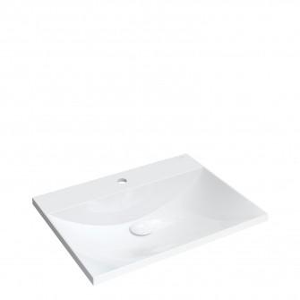furniture basin Marble+, 60 x 46 cm