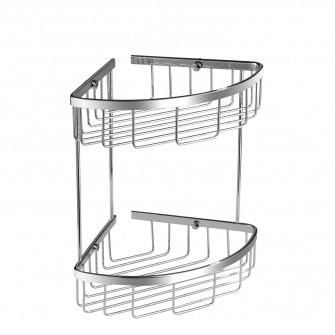 corner shower basket, 21 x 21 x 29 cm