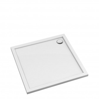 acrylic square shower tray, 90 x 90 cm