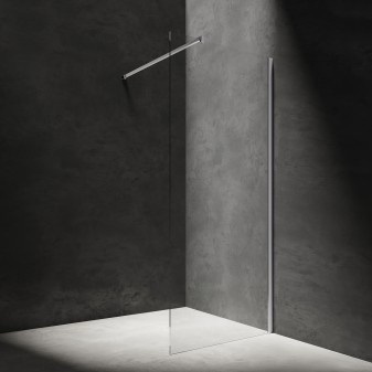 walk-in shower enclosure, 120 cm