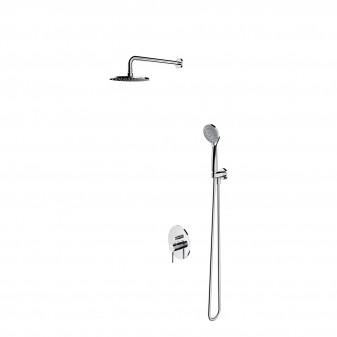 system prysznicowy podtynkowy punktowy