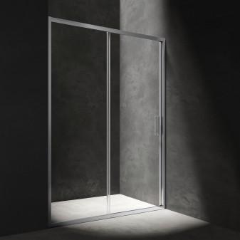 drzwi prysznicowe przesuwne, 120 cm
