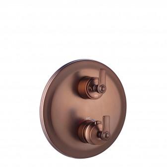 termostatyczna bateria prysznicowo-wannowa 3-wyjściowa podtynkowa