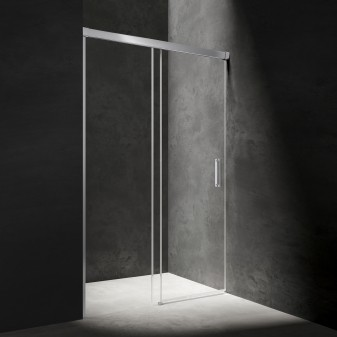 sliding shower door, 120 cm