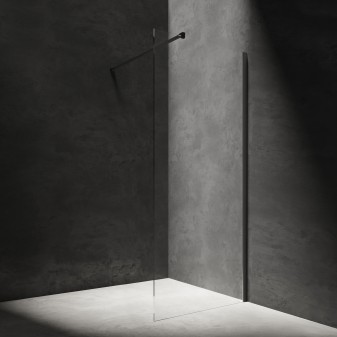 walk-in shower enclosure, 110 cm