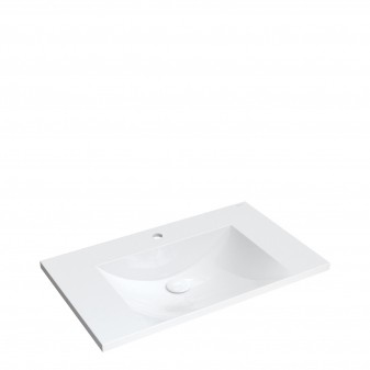 furniture basin Marble+, 76 x 46 cm