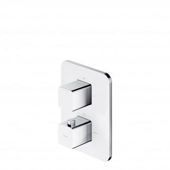termostatyczna bateria prysznicowo-wannowa podtynkowa