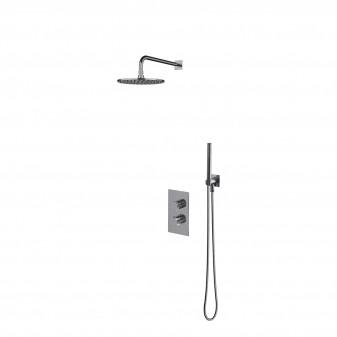 termostatyczny system prysznicowy podtynkowy