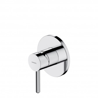 shower mixer for concealed installation