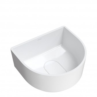 countertop basin Marble+,  37 x 42 cm