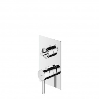 3-way shower/bath mixer for concealed installation