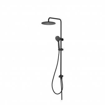 wall-mounted shower system