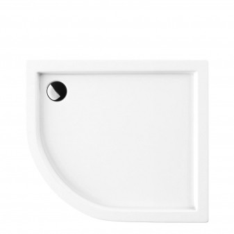 acrylic quadrant shower tray, 80 x 90 cm