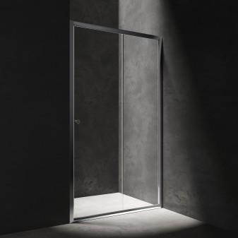 sliding shower door, 130 cm