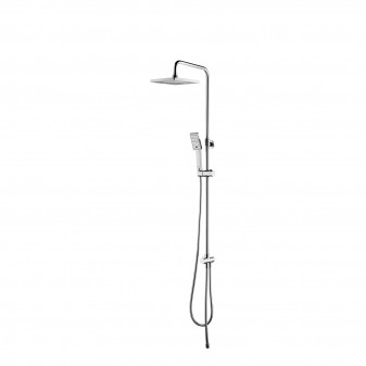 shower column with head shower