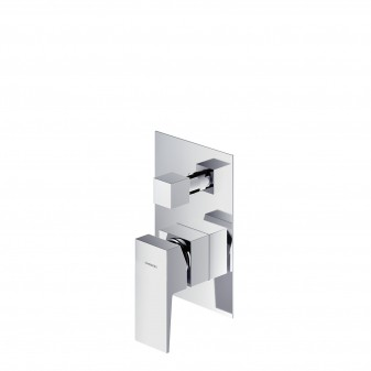 shower/bath mixer for concealed installation