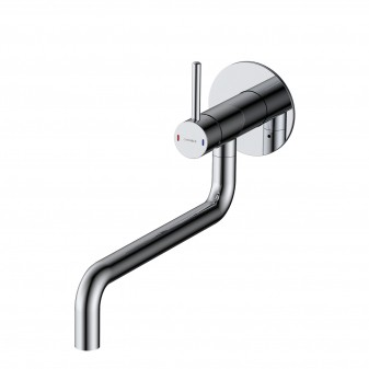 sink mixer for concealed installation