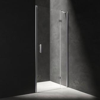 hinged shower door, 100 cm