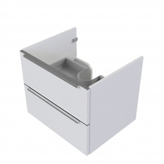 wall hung vanity unit, 60 x 46 cm