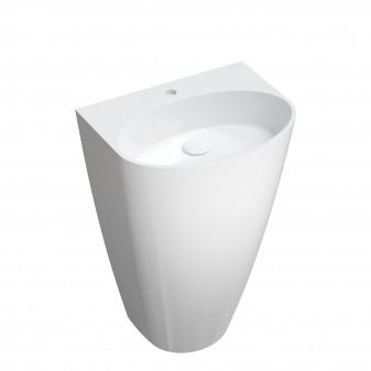 freestanding basin Marble+, 55 x 43 cm