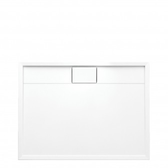 acrylic rectangular shower tray, 80 x 100 cm