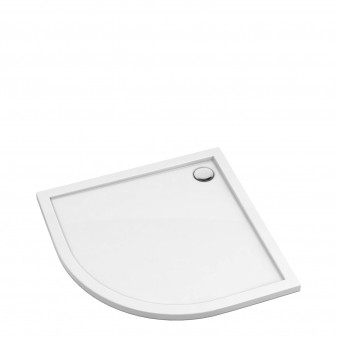 acrylic quadrant shower tray, 80 x 80 cm