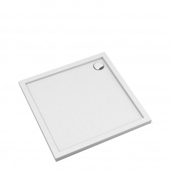 acrylic square shower tray, 80 x 80 cm