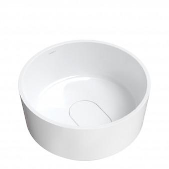 countertop basin Marble+, ø42 cm