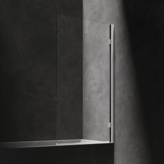 single panel bath screen, 80 cm