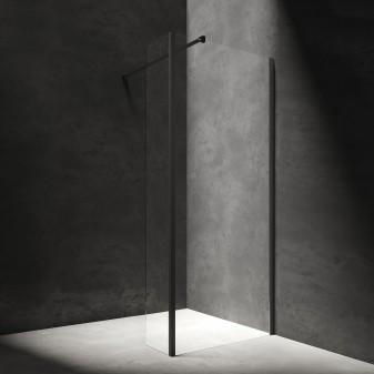 kabina prysznicowa typu walk-in ze ścianką boczną, 90 x 30 cm