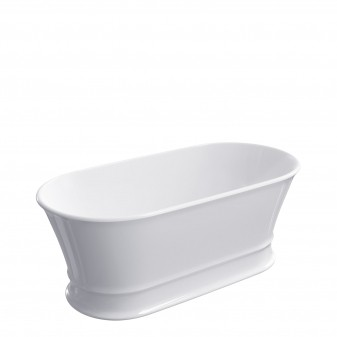 freestanding bath Marble+, 160 x 79 cm