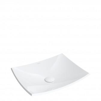 umywalka nablatowa Marble+, 50 x 40 cm
