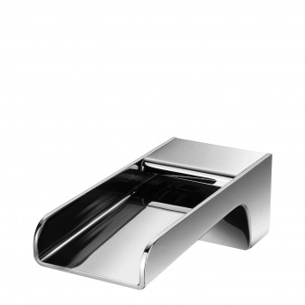 wall-mounted bath spout