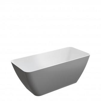 freestanding bath Marble+, 159 x 71 cm