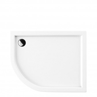 acrylic quadrant shower tray, 80 x 100 cm