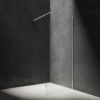 walk-in shower enclosure, 80 cm