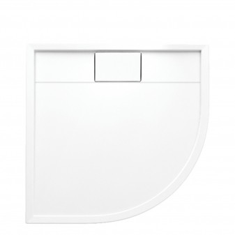 acrylic quadrant shower tray, 90 x 90 cm