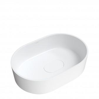 countertop basin Marble+, 62 x 42 cm