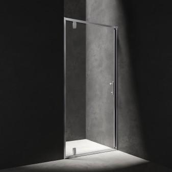 hinged shower door, 90 cm