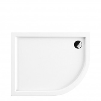 acrylic quadrant shower tray, 100 x 80 cm