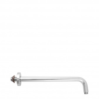 wall-mounted shower arm, 33 cm