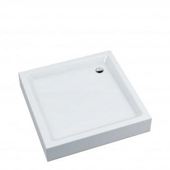 brodzik prysznicowy akrylowy kwadratowy, 80 x 80 cm