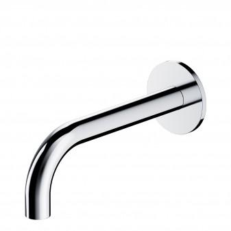 wall-mounted bath spout