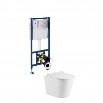 4 in 1 WC set for concealed installation