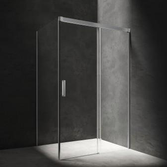 kabina prysznicowa prostokątna z drzwiami przesuwnymi, 120 x 90 cm