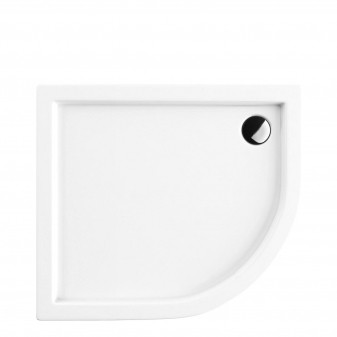 acrylic quadrant shower tray, 90 x 80 cm