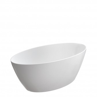 freestanding bath Marble+, 161 x 81 cm