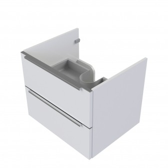 wall hung vanity unit, 76 x 46 cm